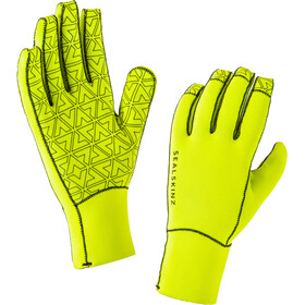 Sealskinz Neoprene Gloves Herre black/hi vis yellow